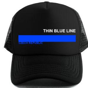 MESH KŠILTOVKA THIN BLUE LINE